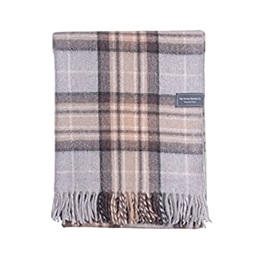 The Tartan Blanket Co.. Recycled Wool Blanket Mackellar Tartan (68  x 59 )