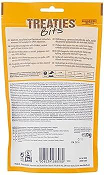 Vitakraft Treaties Bits Poulet, Friandise Snack à la Viande Qualité Premium pour Chien, 1 Sachet de 120 g