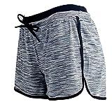LaiYuTing Pantalones Cortos de Yoga para Deportes Pantalones Cortos con Banda elástica para Yoga