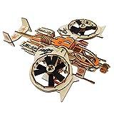 wiFndTu 3D Madera Montaje Juguete Puzzle Mecánico Set DIY Modelo Kits Armour Helicóptero Juegos de Construcción Cumpleaños Navidad Rompecabezas Regalo para Niños Adolescentes Adultos - #9