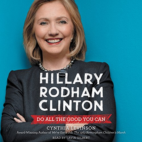 Hillary Rodham Clinton audiobook cover art