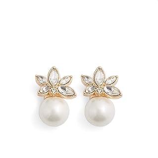Aldo Dangle Earring for Women, Multi Stones
