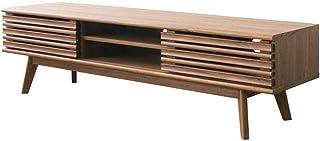アイリスプラザ テレビ台 スライドパネルTV台 ブラウン 木目調 MSTR-150 幅約149×奥行約38.6×高さ約40.8㎝