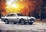 Generic Aston Martin DB5 James Bond Vintage Auto-Poster