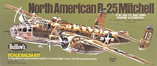 Krick B-25 Mitchell Balsabausatz