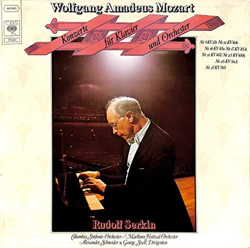 Mozart: Konzerte für Klavier und Orchester; Nr. 9 KV 271; Nr. 12 KV 414; Nr. 16 KV 451 - 77431 - Vinyl Box