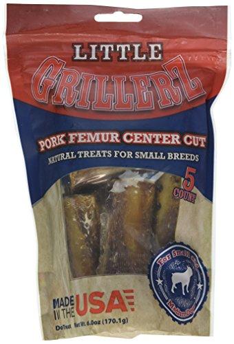 Little Grillerz Femur Porc coupé au Centre, Petite et Moyenne 5Ct