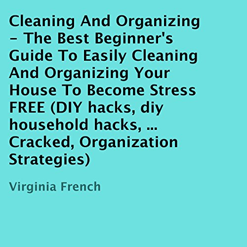 Cleaning and Organizing audiobook cover art