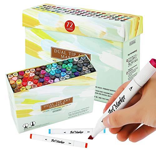 Marcadores de Arte 72 Colores, Rotuladores Art Markers graff