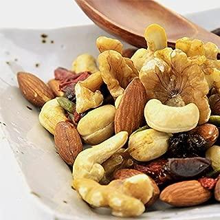 砂糖不使用 無添加 ドライフルーツ & 素焼き 無塩 ミックスナッツ お徳用 1kg