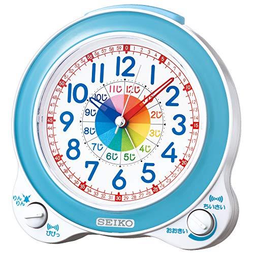 セイコークロック『目ざまし時計知育時計(KR887L)』
