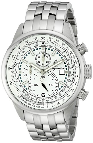Burgmeister Burgmeister Melbourne - Reloj de Caballero de Cuarzo, Correa de Acero Inoxidable Color Plata