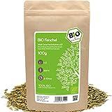 amapodo Bio Fencheltee lose 100g Fenchelsamen ganz Fenchel Tee süß oder als Gewürz