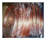 Tubos de cobre 1 M Diámetro 10 mm * 1 mm TPM2 Rojo tuberías de cobre, pipa de calor aire acondicionado tubo de cobre, latón DIY de la CPU del ordenador portátil del disipador de calor de enfriamiento