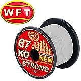 WFT NEW KG Strong Trans 1000m 67kg - Geflochtene Angelschnur zum Meeresangeln, Geflechtschnur, Meeresschnur zum Heilbuttangeln