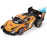 DFERGX Aleación De Alta Velocidad RC Coche De Control Remoto 2.4g Stunt Spray Drift RC Car Todo Terreno Coche Deportivo Coche Eléctrico De Juguete Regalo De Cumpleaños Regalos para Adultos Y Niños