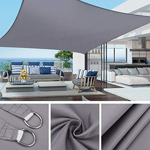 Limited time for free shipping VUFP Outdoor Waterproof Sun Shelter Outstanding Rectangle 3x2M Awning 3x4M S