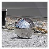 CLGarden Acero inoxidable bolas variantes 38cm, Bola flotante muy pulida