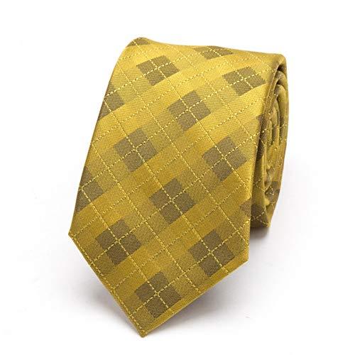 COLILI Männer Gold Krawatten Stricken Krawatte Mens Fashion Geschenk Krawatten Jacquard Krawatte Business Mann Kleid Hochzeit