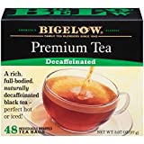 Bigelow 48 Count Premium Decaffeinated Blend Black Tea, Contains 48 Individually Wrapped Tea Bags, Decaf Tea