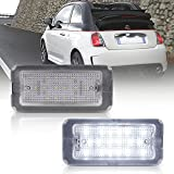Lampada per luci targa a LED bianca per 500/595/695 500C 595C 695C 312 C OEM: 51800482, Non per I500 e 500X Canbus
