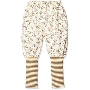 [ディズニー] プー 裾リブ ジョッパーズ パンツ 332224005 キッズ ホワイト 日本 90 (日本サイズ90 相当)