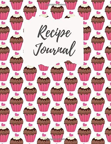 Recipe Journal: Notebook blank cookbook to write in, personal organizer handmade journal, collect treasured recipes, healthy life, Accessory & Cooking Guide