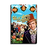 MIKE Willy Wonka and The Chocolate Factory Wall Art Canvas Print Drawing Decor for Living Room Bedroom -402 (Unframed,8x12 inch)