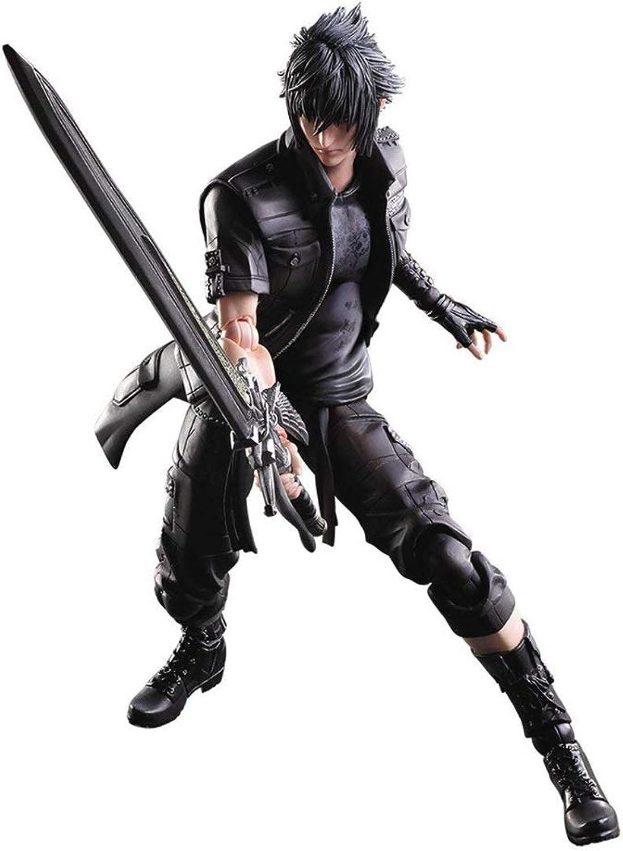 Siyushop Final Fantasy  Noctis Play Arts Kai Action-Figur - Mit Waffen und austauschbaren Händen ausgestattet - Hohe 27CM B07PLYSKF6  Sehr gute Qualität     | Ausgezeichnet
