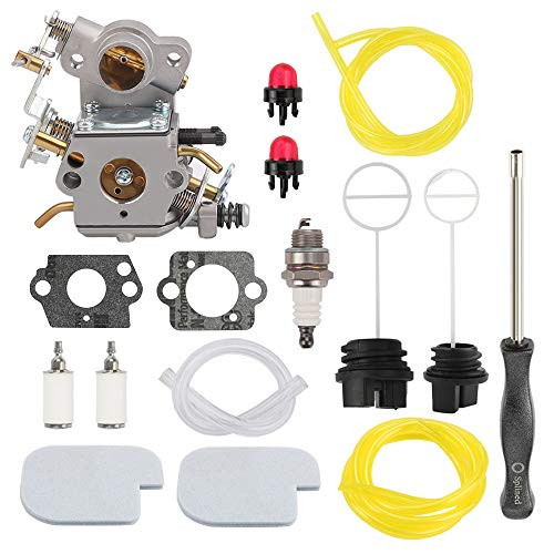 Savior C1M-W26C Carburetor for Poulan P3314 P3314WS Chainsaw Craftsman PP3516 P3416 P4018 PP3816 PP4218 P4018AV PPB4018 ZAMA Carb