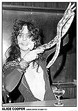 Unbekannt Alice Cooper Poster London Airport October 1971