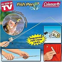 Coleman Deluxe FishPen Retractable Fishing Pole & Reel