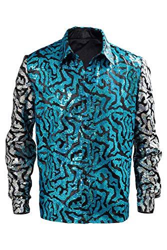 cultofmoon Joe Exotic Cosplay - Disfraz de la serie de televisin para hombre, forro de seda sinttica, camiseta para adultos, disfraz de carnaval
