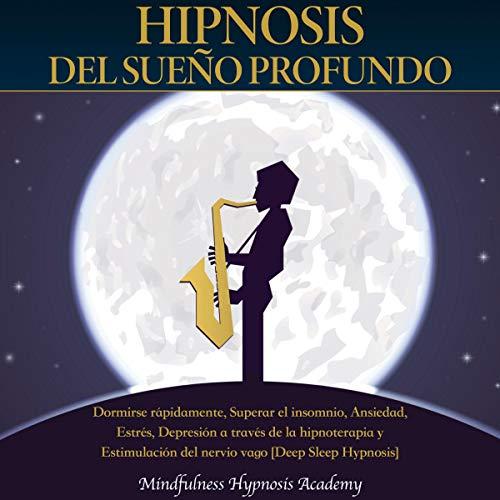 Diseño de la portada del título Hipnosis del Sueño Profundo