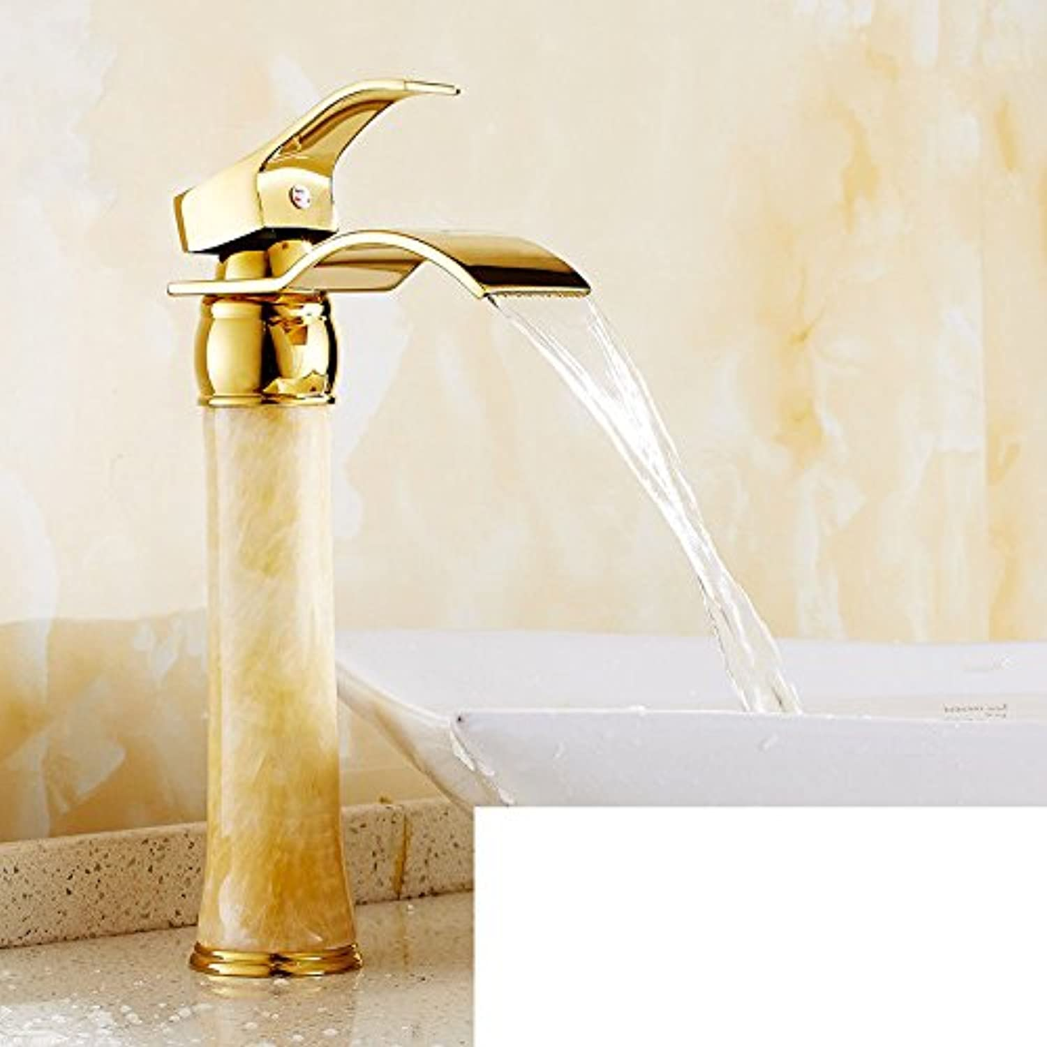 Good quality Antique Basin Sink Mixer Tap The copper basin faucet hot and cold plunge antique gold plus high