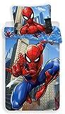 Spiderman Marvel – Juego de Cama – Funda nórdica de algodón