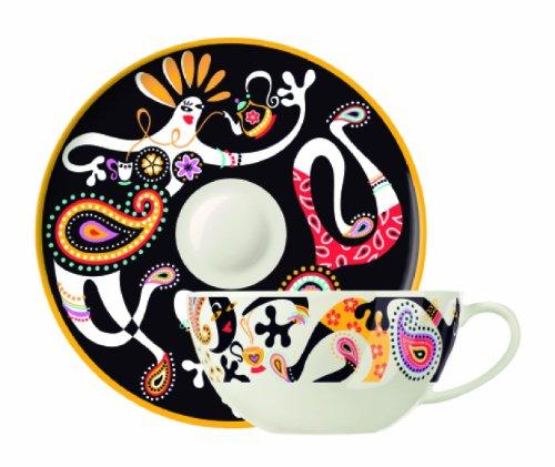 Ritzenhoff My Tea Teetasse mit Sieb und Abtropfschale, Michal Shalev