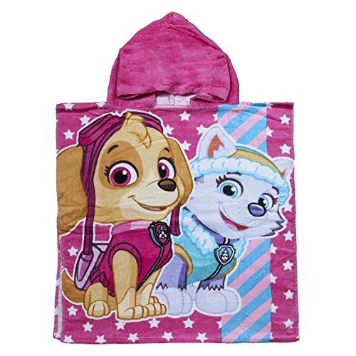 Poncho toalla Patrulla Canina Paw Patrol Best Pups algodon