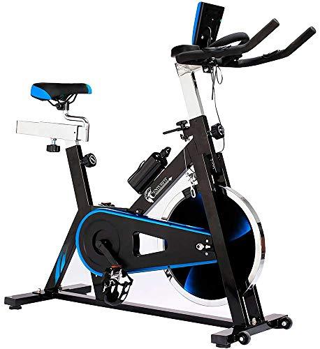 Centurfit Bicicleta Fija Disco Rueda de 18 Kg Estatica Spinning Fitness Cardio Ciclismo Interior Entrenamiento Cardiovascular Indor Gimnacio Gym Excelente Calidad Profesional Uso Rudo Ejercicio Casa Oficina