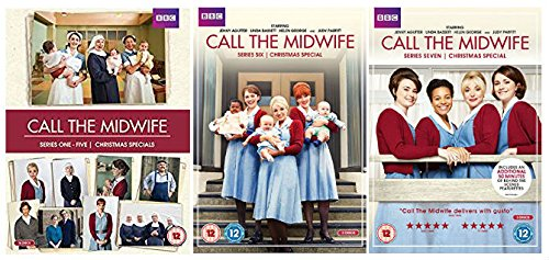 Award-winning BBC drama Call the Midwife Series 1 - 7 Complete DVD Collection + Christmas Specials + Behind-the-scenes features + Interviews with the cast and crew