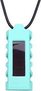 Happy Hours - Silicone Holder Necklace for Fitbit Alta / Replacement Wristband Accessory(Green)