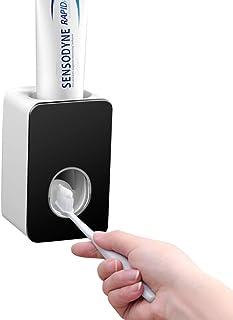 mani libere per bambini dispenser automatico di dentifricio da parete per lavandino da bagno Distributore di dentifricio a serraggio automatico spremi dentifricio FBGood colore: Verde