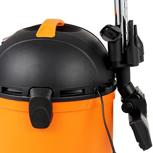 Nass- Trockensauger Mehrzwecksauger Sauger • 15 Liter Behältervolumen • umfangreiches Zubehör • Saug- und Blasfunktion • Aktionsradius 8m • Teleskopsaugrohr: 90cm - 7