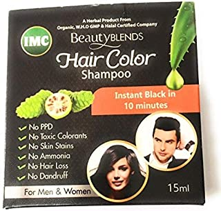 Imc Beauty Blends Noni Hair Color Shampoo 15Ml - 4 Sachets