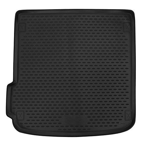 AD Tuning TMP11013 Passform Kofferraumwanne, Anti-Rutsch Oberfläche, schwarz