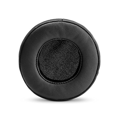 BRAINWAVZ Round Replacement Memory Foam Earpads - Suitable for Many Other Large Over The Ear...