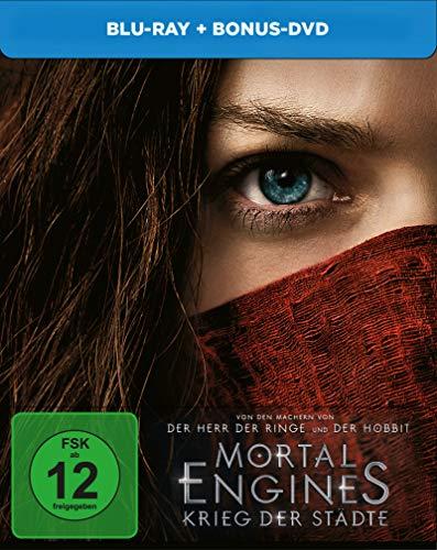 Mortal Engines Krieg der Städte BD Steelbook [Blu-ray]