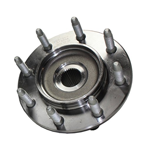 Detroit Axle - 4WD Front Wheel Bearing Hub Assembly Replacement for Chevy GMC Silverado Sierra 1500 Suburban Yukon XL Avalanche 2500 3500 Hummer H2-515058