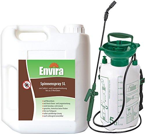 Envira Spinnenspray 5Ltr mit Drucksprüher