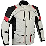 LOVO Chaqueta 3/4 para moto (Hombre) (4XL)
